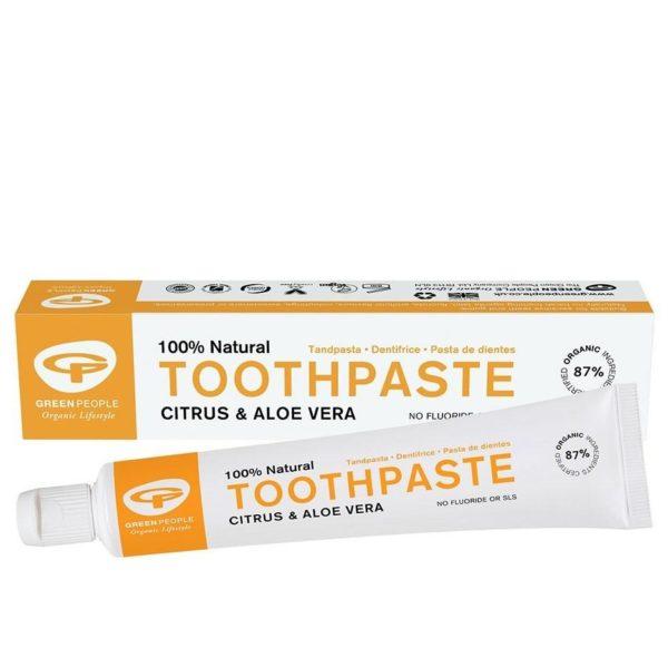 Green People Citrus & Aloe Vera Toothpaste