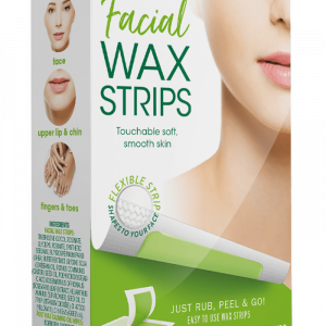 Nad's Hair Removal Facial Wax Strips
