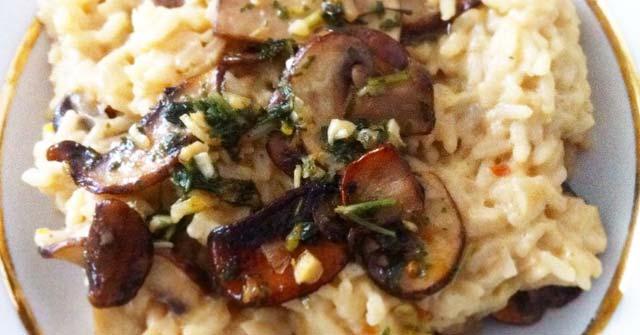 Taste.com.au Mushroom Risotto