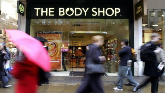 The Body Shop bought by Brazil's Natura