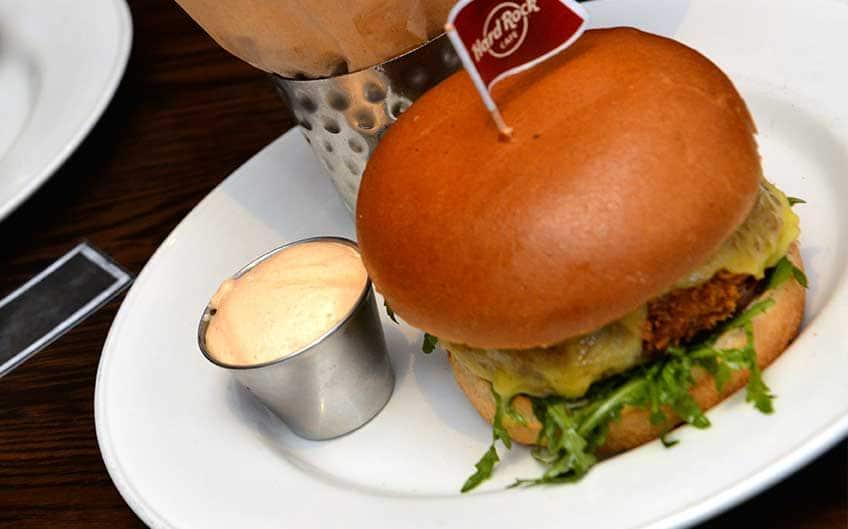 Hard Rock Cafe Vegetarian Food