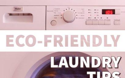 Eco-friendly laundry tips