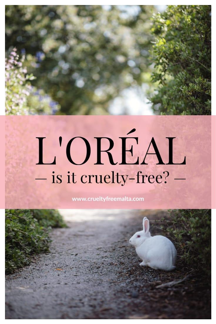L'Oréal cruelty-free