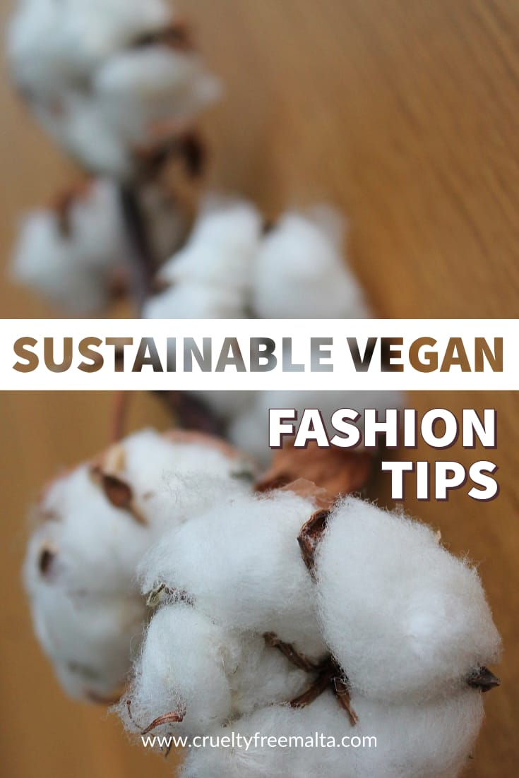 Sustainable vegan fashion tips