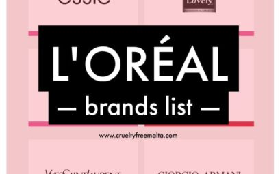 L'Oréal brands list
