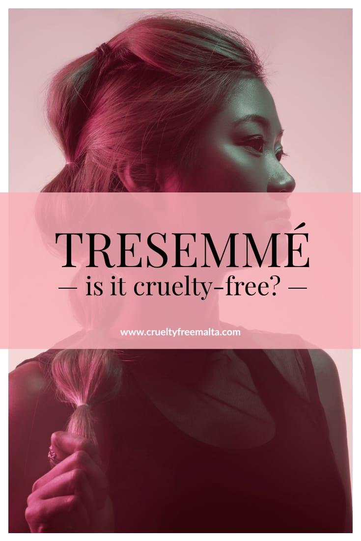TRESemmé is it cruelty-free?