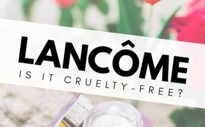 Is Lancôme cruelty-free