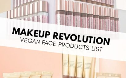 Revolution Vegan Face Products