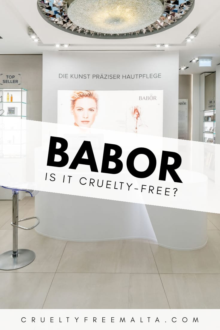 Is Babor cruelty-free?