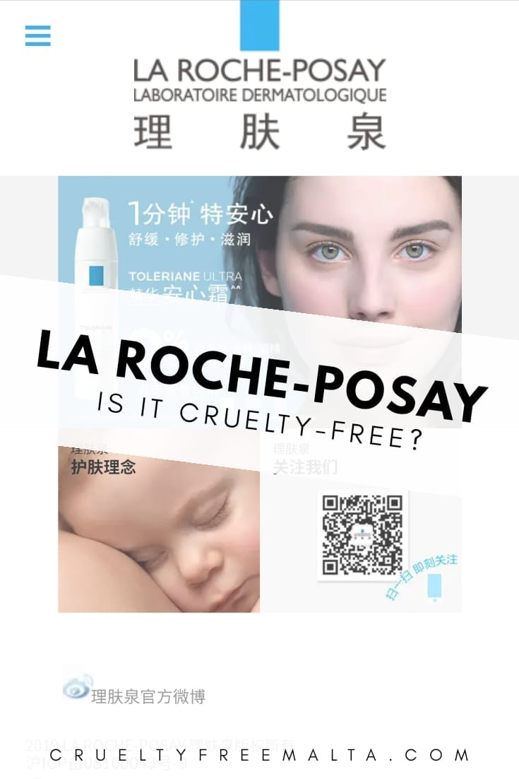 Is La Roche-Posay cruelty-free?