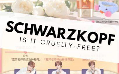 Is Schwarzkopf cruelty-free?
