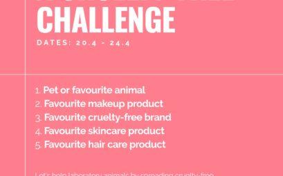Cruelty-free Challenge