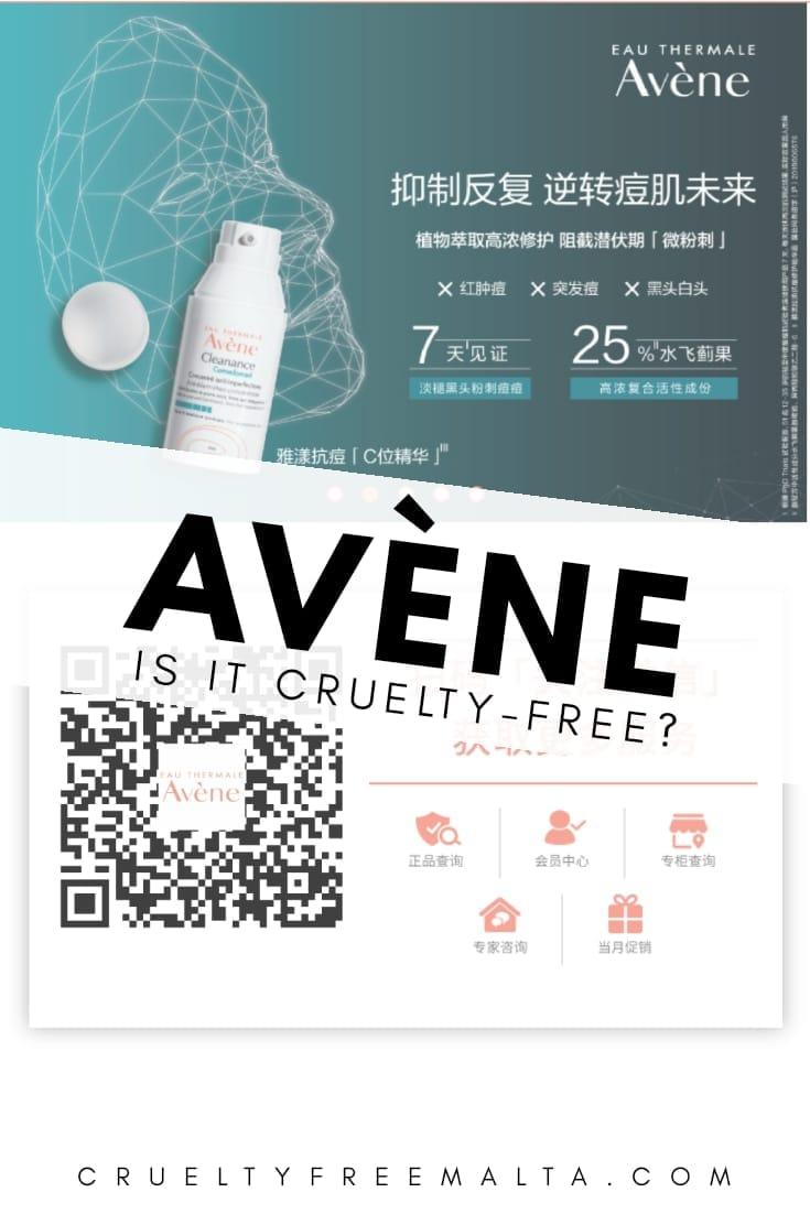 Is Avène cruelty-free?