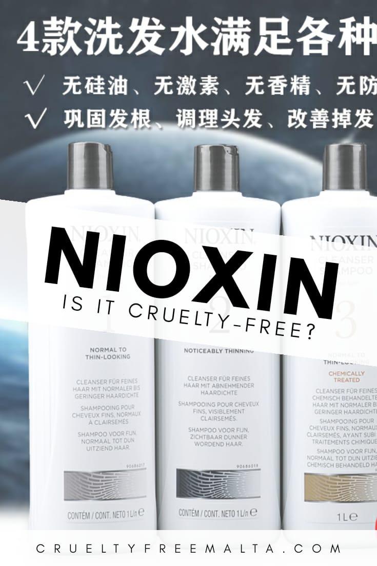 Is Nioxin cruelty-free?
