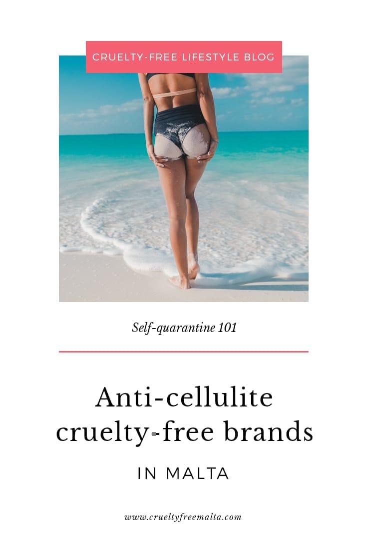 Anti-cellulite cruelty-free brands in Malta