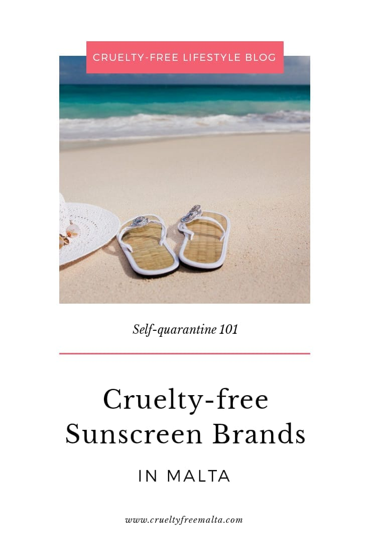 Cruelty-free Sunscreen in Malta