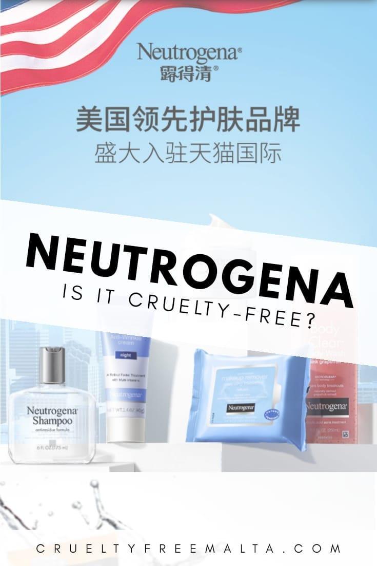 Is Neutrogena cruelty-free?