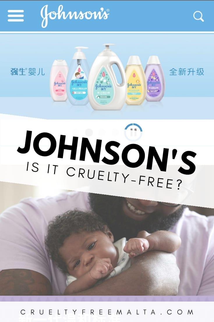 Is Johnson's Baby cruelty-free?