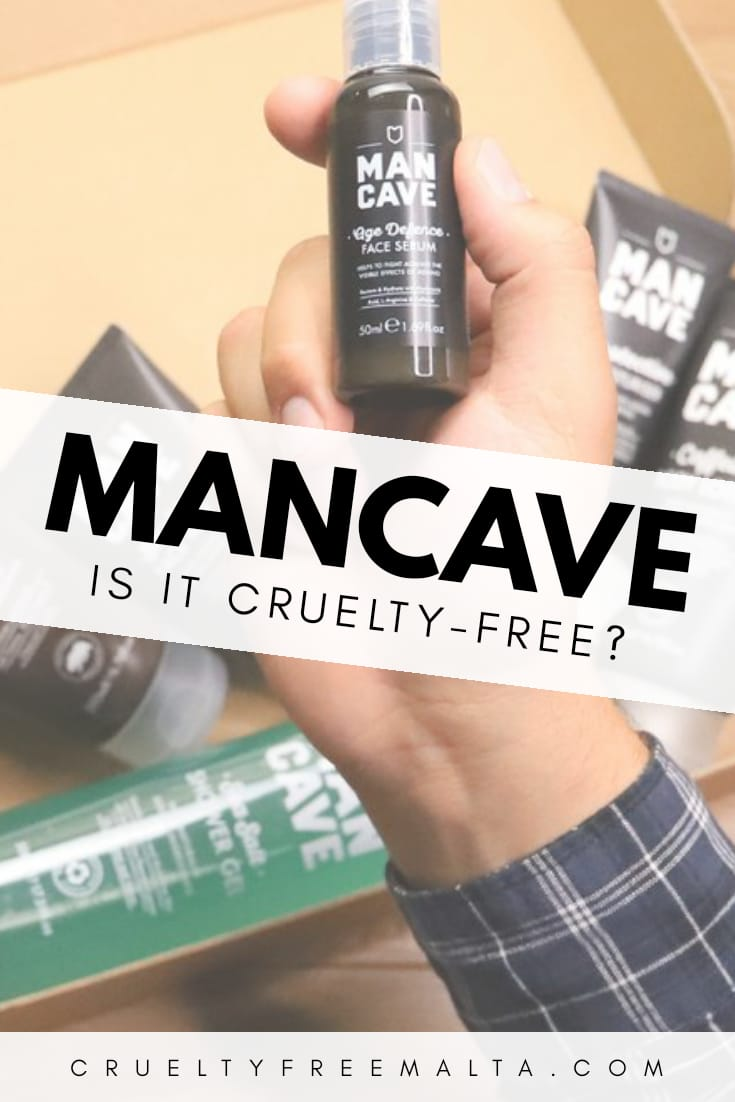 Is ManCave cruelty-free?