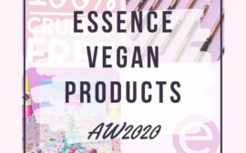 Essence Vegan Products List AW 2020