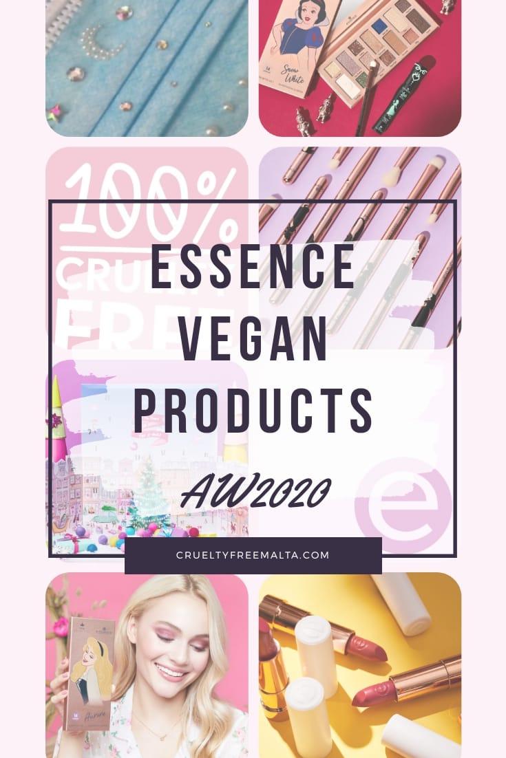 Essence Vegan Products List AW 2020