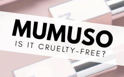Is Mumuso cruelty-free?