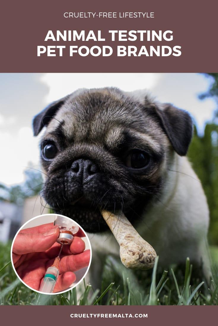 Animal Tested Pet Food Brands