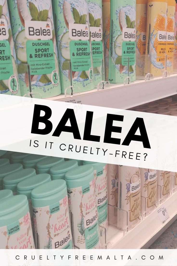 Is Balea cruelty-free?