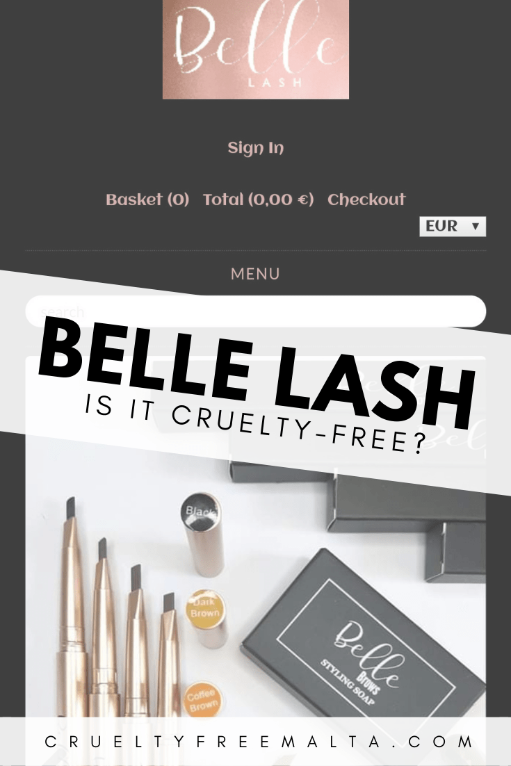 Is Belle Lash cruelty-free and vegan?