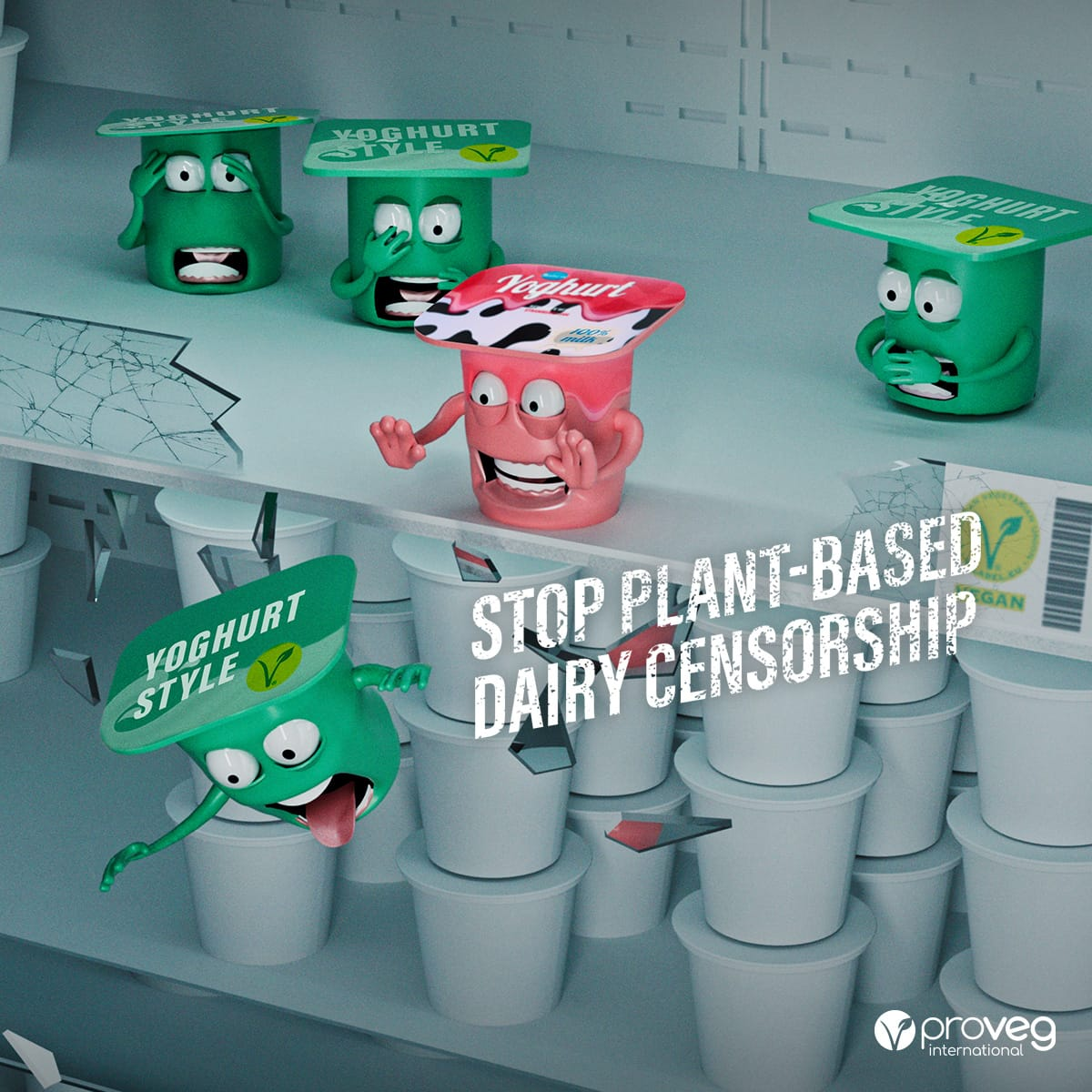 EU Amendment 171 - Plant-based dairy censorship