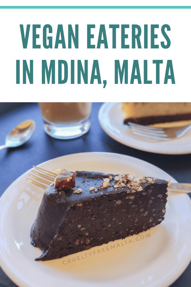 Vegan eateries in Mdina, Malta